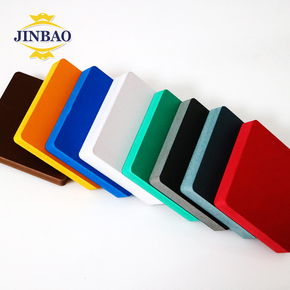 JINBAO singapore sun board surface rigid raw material compounds pvc foam board manufacturers in thailand