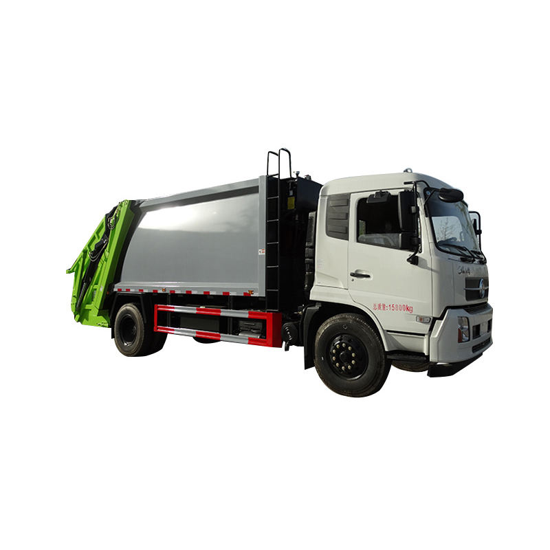 Waste collection vehicle 2 tons garbage collector truck