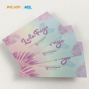 good quality customized greeting card thank you card printing in shanghai