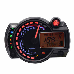 Hot sale Universal style LED Digital speedometer for motorcycle