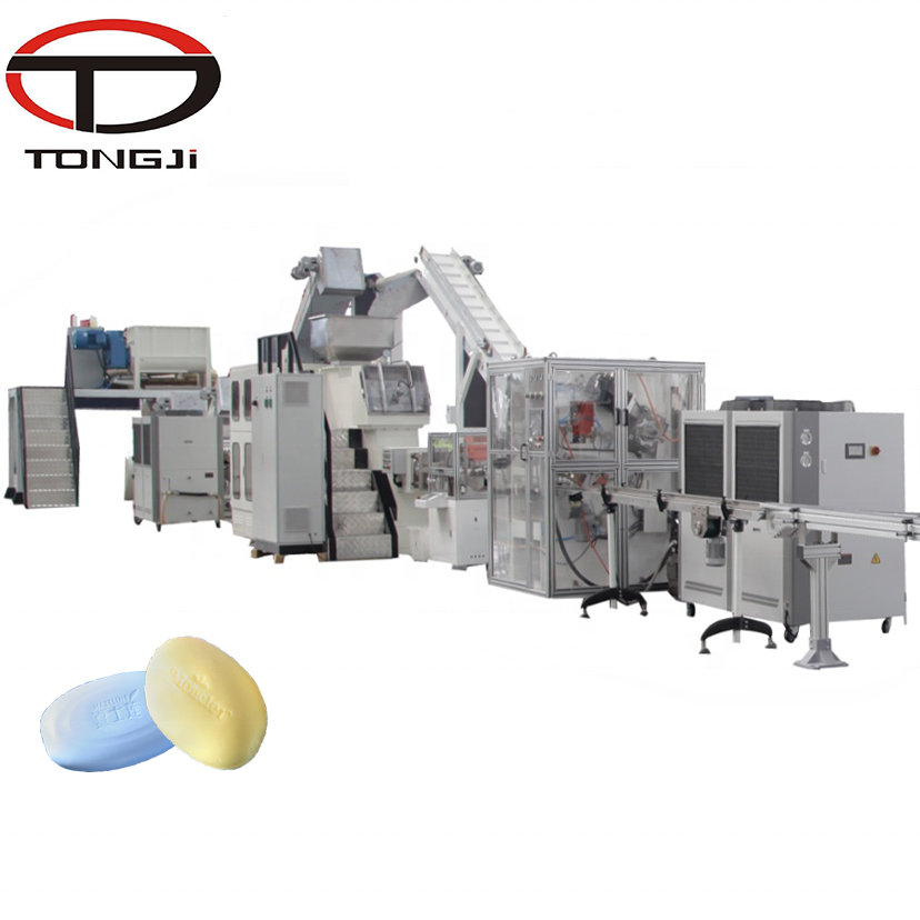 300kg/h industrial soap making machine bar production line with good price