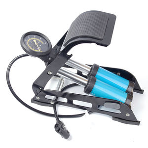 Manufactured Foot Pump For Bicycle With Gauge High Pressure Air Foot Pump For Bikes