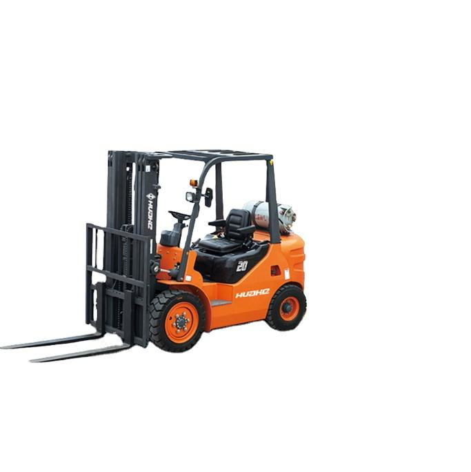 600 mm load center HUAHE new design forklift With 4 Wd