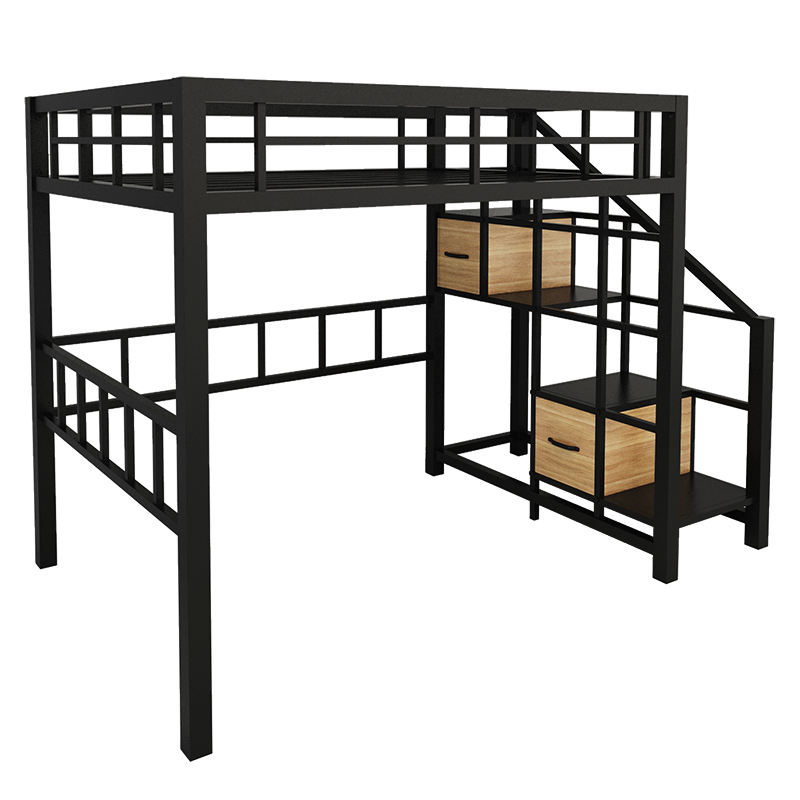 Wholesale Metal Twin Adult Loft bed Bunk Bed