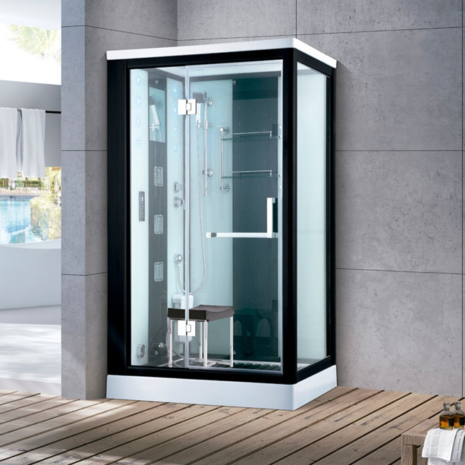 JOININ bathroom luxury modern style shower steam rooms bath enclosure combined steam shower cabins 7011