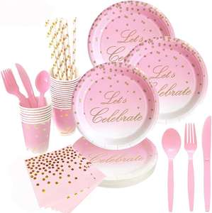 Disposable Paper Plates bachelorette party party decorations wedding supplies