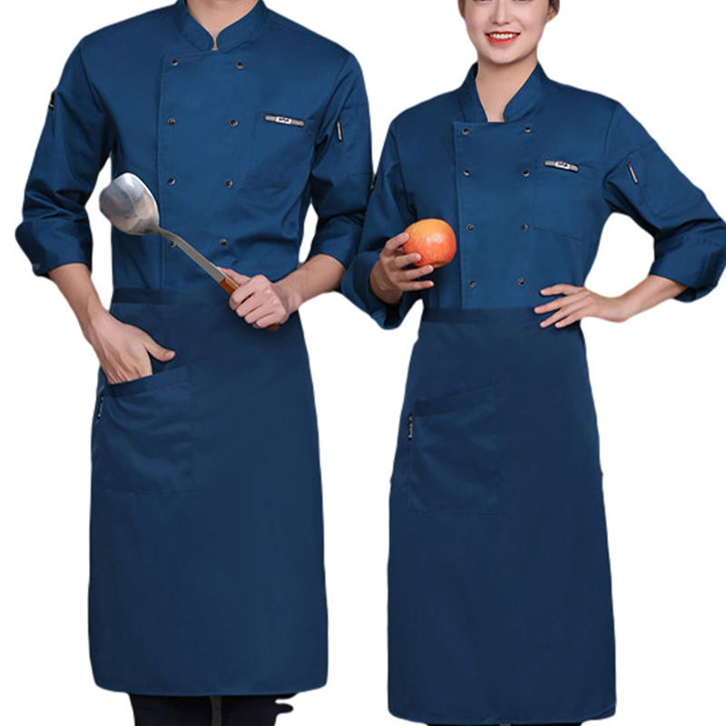 Wholesale Catering Staff Waiters Chef Dress for Restaurant/Beauty/Saloon/Bakery Chef Uniform