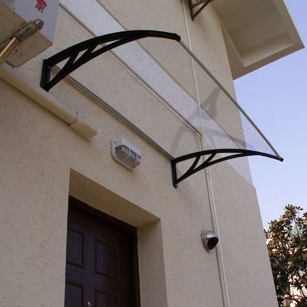 High quality polycarbonate awning door canopy DIY awning outdoor canopy for sun shade and rain shelter