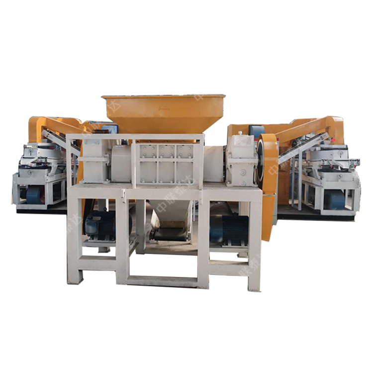 Best Sell 1000Model Crusher Shredder Separator Recycle Machine For Electrical Waste Copper Alumina Cable Wire Metal Steel Scrap