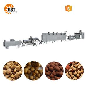 small scale dry dog cat food processing making machines pellet production equipment