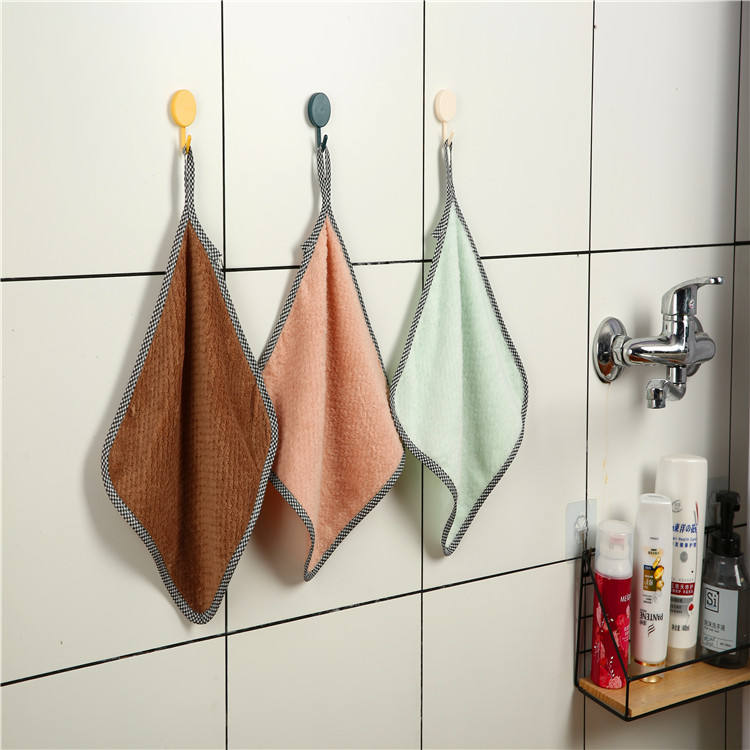 soft and comfortable bathroom children's hand towel