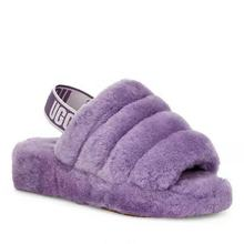 Factory wholesale winter sheepskin slippers lamb fur slippers for women