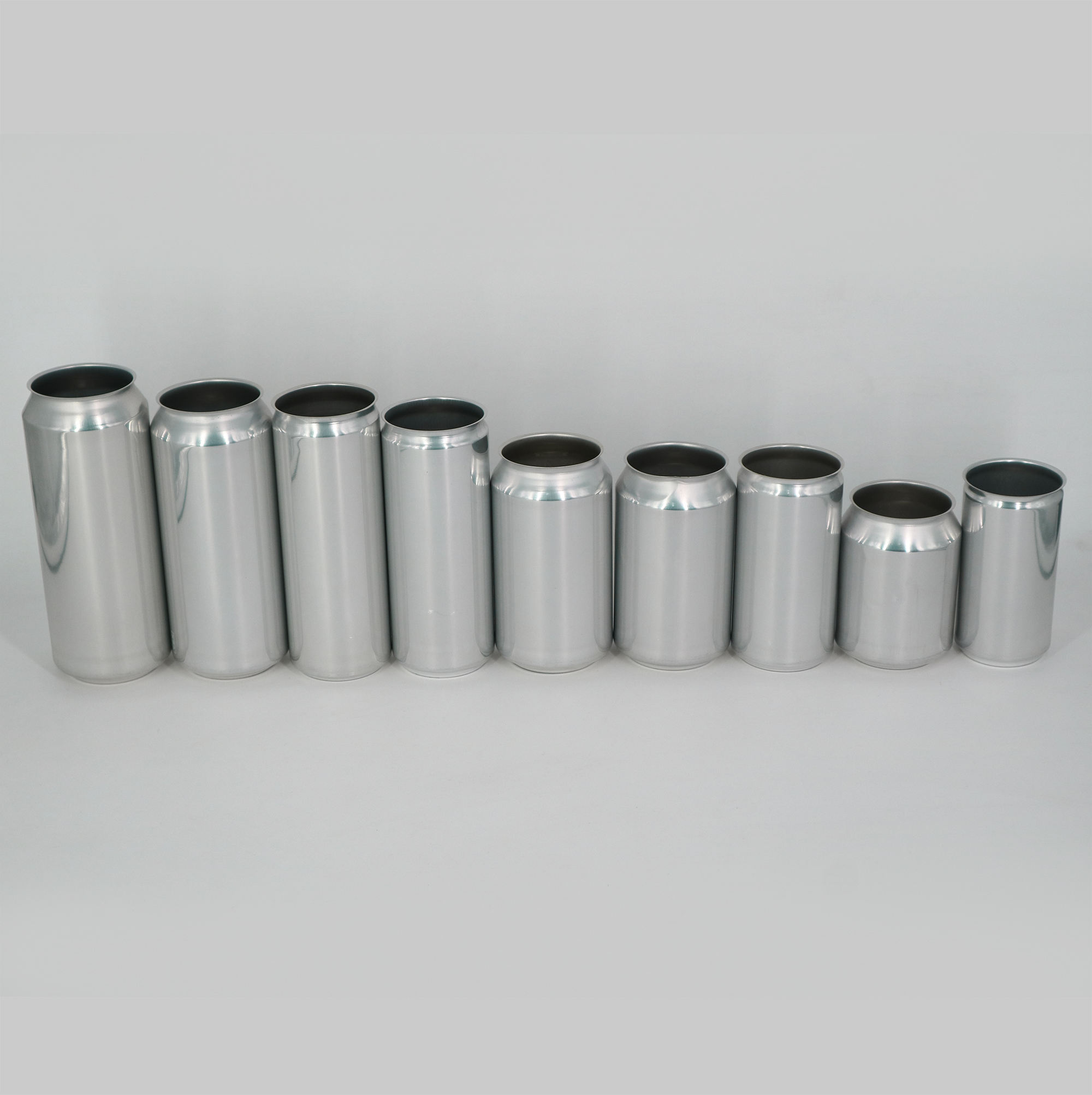 250ml 330ml 355ml 473ml 500ml round aluminum beer beverage can for soft drink milk