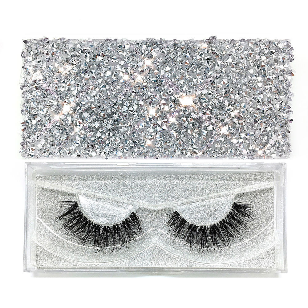 Diamond Package Private Label 100% Mink Lahes 3d Mink Eyelashes