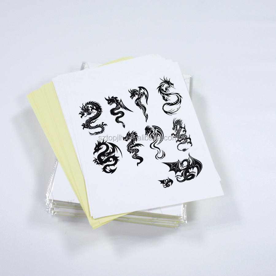 Best Hot Inkjet Waterproof Customized Temporary Body Tattoo Paper