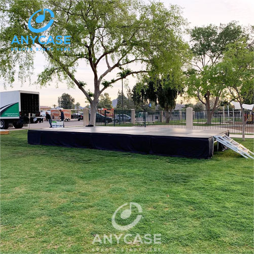 Leveling Foot New design concert portable stage podium event stages for sale