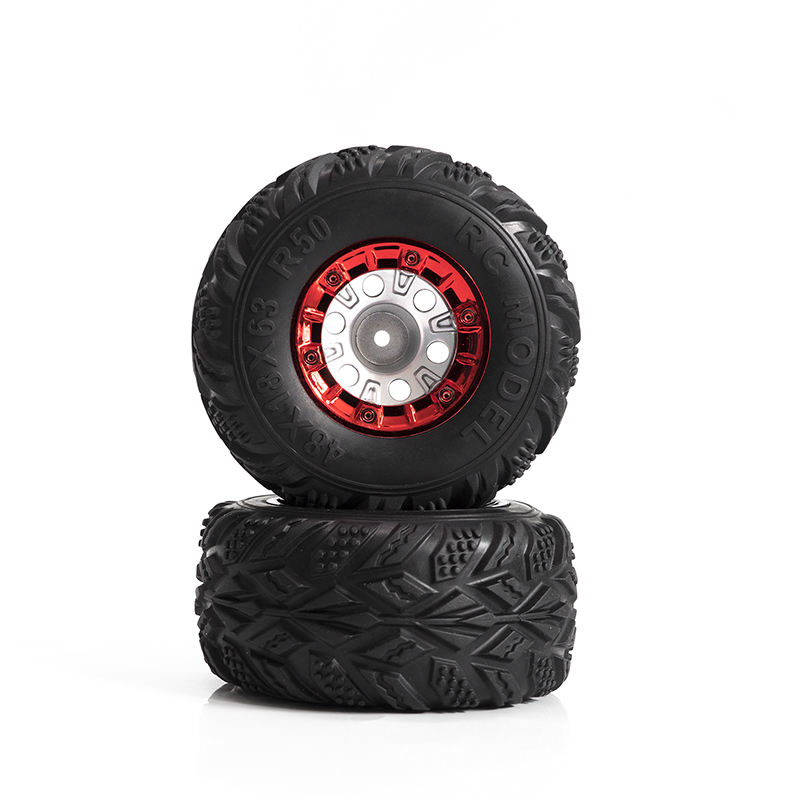 1/12 RC Car parts Rubber Sponge Tires high speed remote control car tires FY-CL02 Radio Control Toys SUV off-road cars Wheels