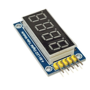 Okystar 7 Segmen LED Display LED Modul Jam TM1637 UNTUK ARDUINO