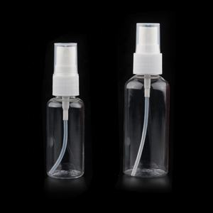 Manufactory Wholesale 60ml Plastic Spray Bottles With Fine Pump