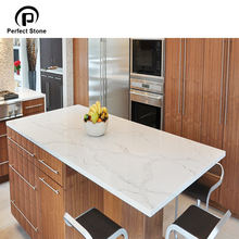 Quartz Slab For Prefabricated Kitchen Islands