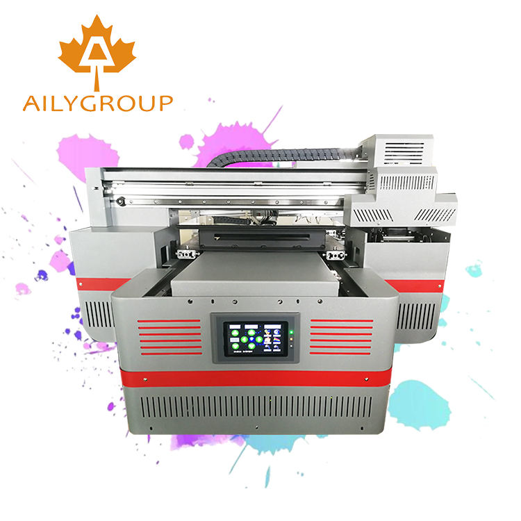 Aily Group 4030 cheap a3 uv led flatbed printer head for phone case