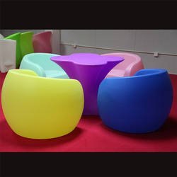 Customized rotomolded outdoor furniture mould/plastic sofa rotomolding furniture used rotational moulding machine plastic seat