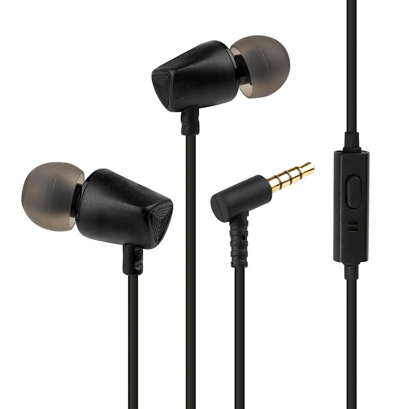 Metallic Comfortable Ear Waterproof And Sweatproof ZXQ A5 Heavy Bass All Metal Side In-ear Bionic Earphone For Listen