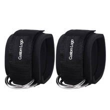 fitness weight workout cable ankle straps for cable machines