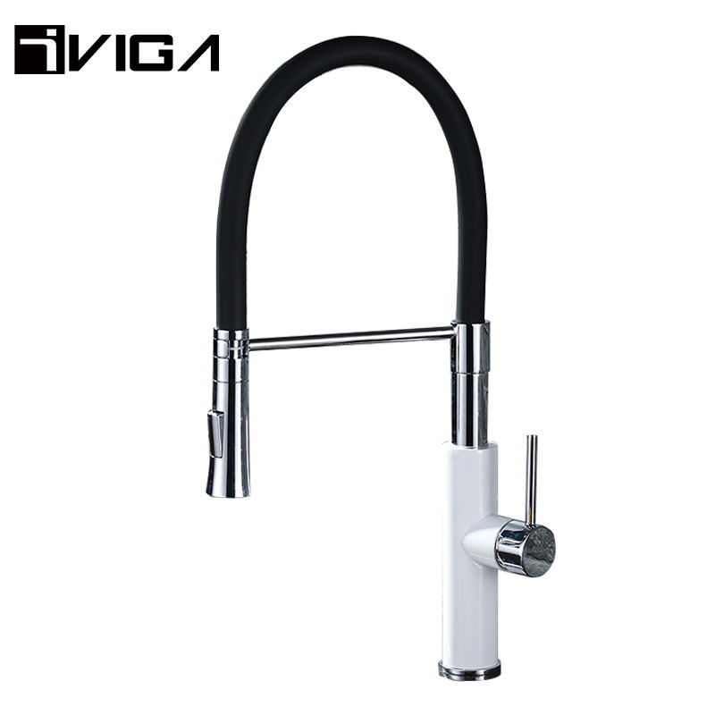 Moderne Hot Multi Funktionen Messing Küche Tap Gesunde Küche Waschbecken Mixer Chrome Pull Out Sprayer Küche Wasserhahn