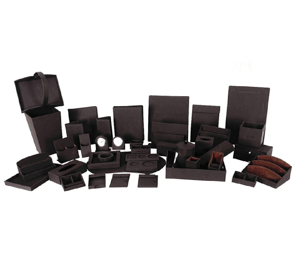 Custom Produce Guest Room Leather Supplies Hotel Amenities