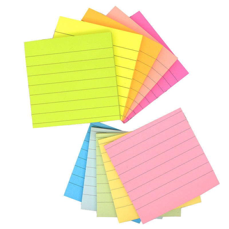 Assorted Neon Colored Ruled Index Cards