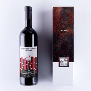 Italiana red vino Langhe Nebbiolo DOC 750 ml PREMIUM