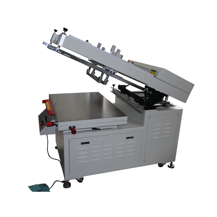 Semi Automatic Heat Transfer Film Silk Screen Printing Machine Printer with Vacuum table