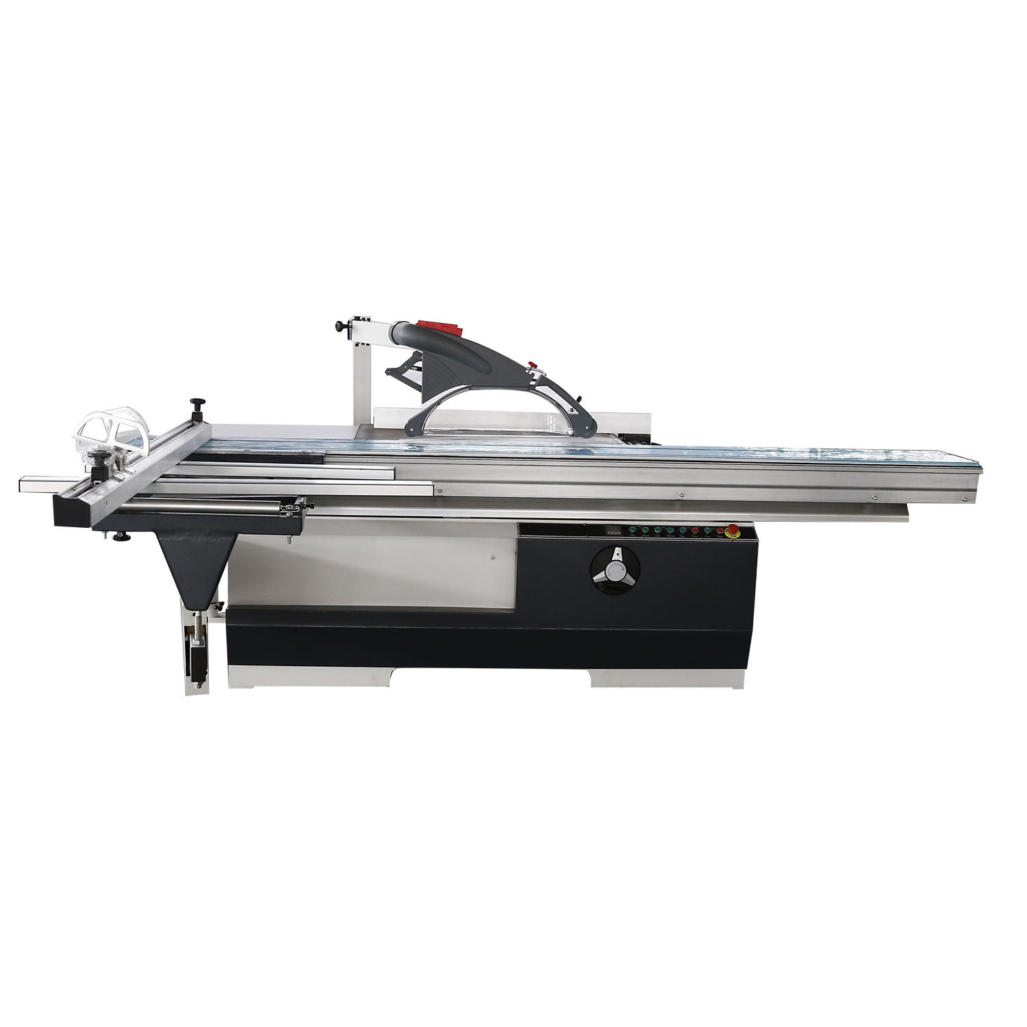 Woodworking Sliding Table Panel Saw With Scoring Saw Blade