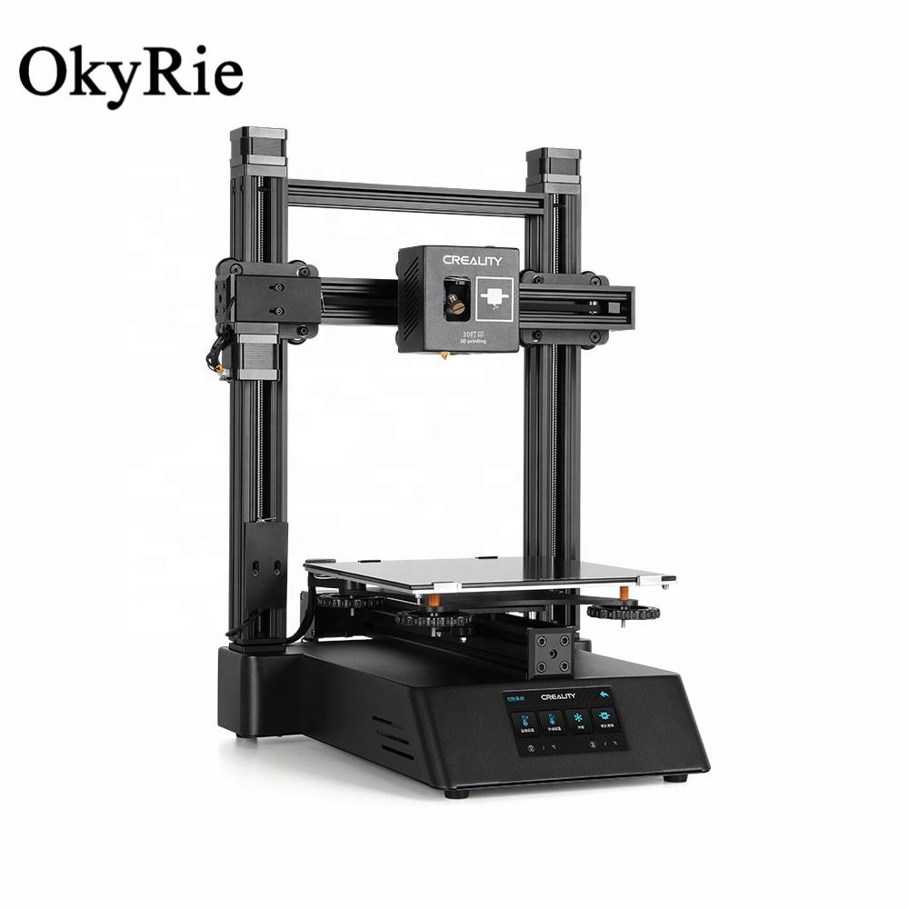 OkyRie Fashion Design Desktop Machine Creality CP-01 3 in 1 Impresora 3D Kit, huis Thuis Professionele SLA/DLP Laser 3D Printer