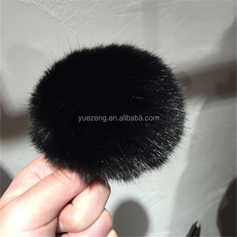 Decoration Fashion Faux Fur Pom Poms For Slippers