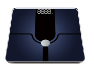 Electronic weighing scale lcd display body fat digital weigh scale
