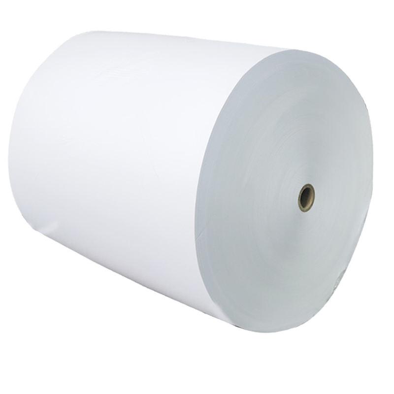メーカーのホットセール全温度接着剤合成紙超大型ロールコーティングサーマルラベル