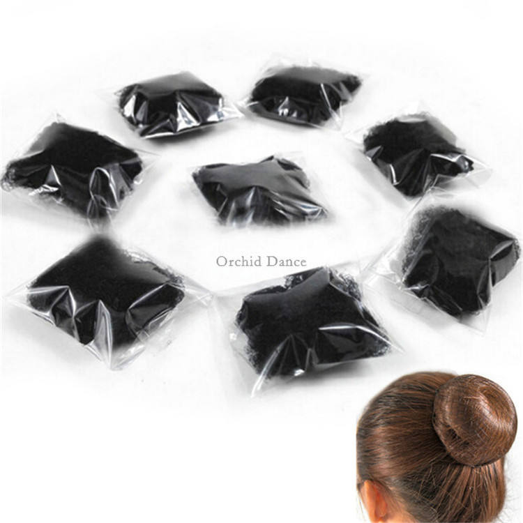 Invisible Elastic Mesh Hairnet Ballet Bun Hair Net