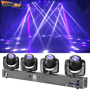 Guangzhou led 4*32w RGBW LED strahl bühne 4 in1 moving head licht