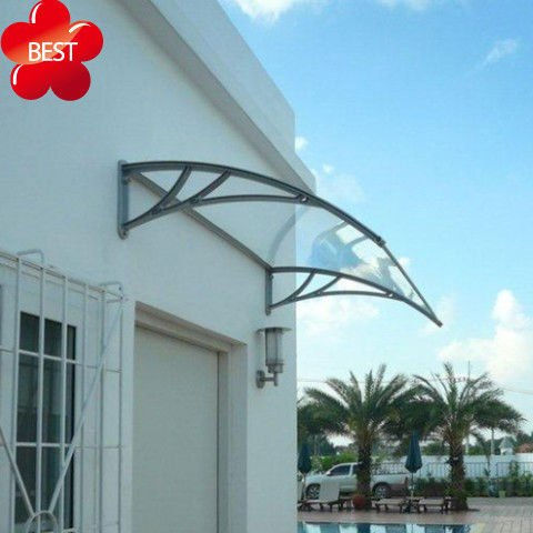 Freesky diy PC/polycarbonate garden shed canopy, gazebo cover canopy, mental window and door canopy