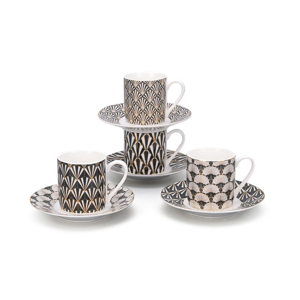 Chinese supplier beauty ceramic tea cups saucers new bone china tea set & coffee cup set
