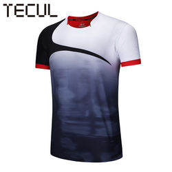 TECUL badminton jersey customized table tennis sports suit quick-dry fitness sports short-sleeve badminton jersey