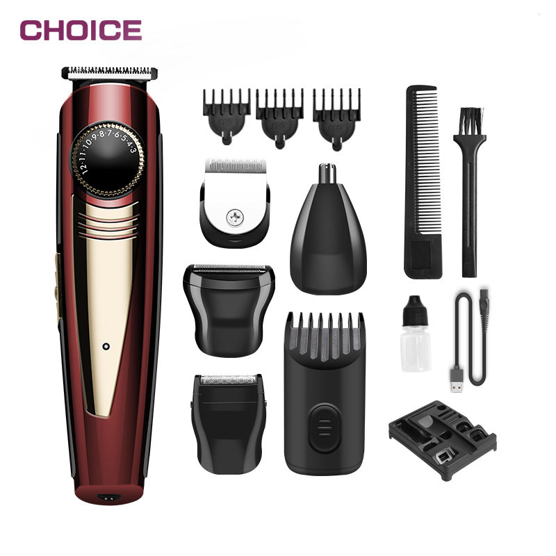 Man Shaving Machines Beard Rechargeable Newest Electric Cordless Hair Clipper Set Machine Professional Barber Trimmer