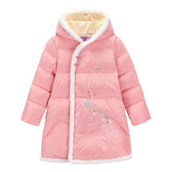 Sale Navy Color Parkas Outerwear Type 7 Years Age Girls Coats & Outwear