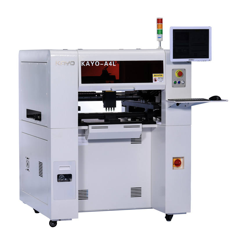Factory directly supply Smt Pick And Place Machine with 4 nozzles Max. Mounting Speed 8000CPH