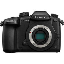 Panasonic Lumix DC-GH5 Mirrorless Micro Four Thirds Digital Camera Body