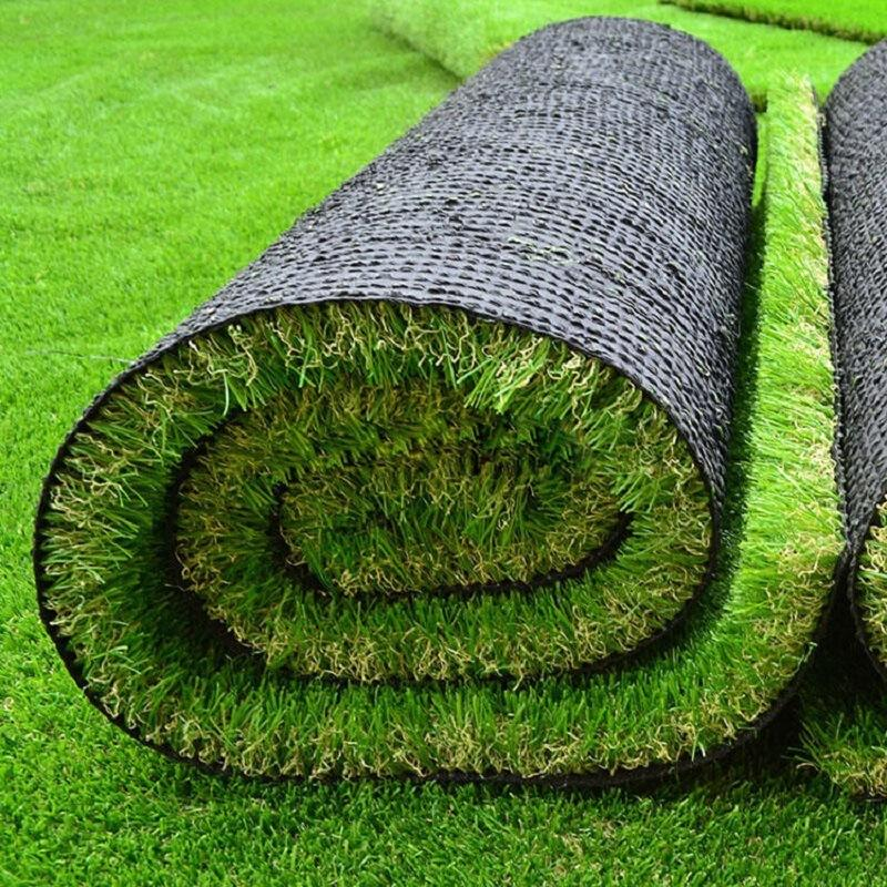 Chino 20 Mm Cesped Artificial Green Grass For Decoration