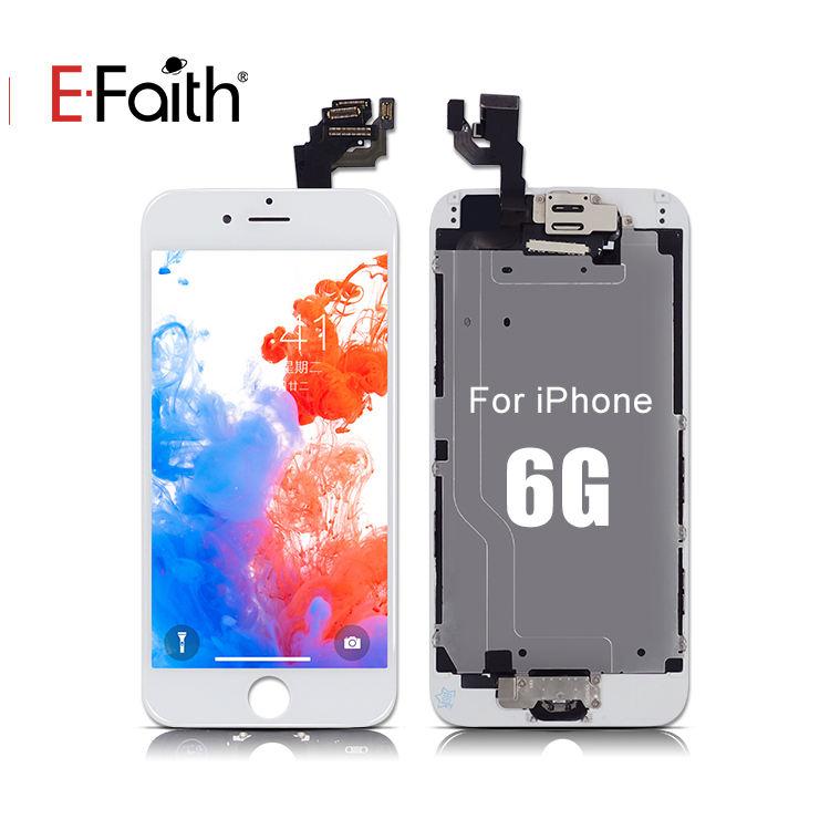 <span class=keywords><strong>Tecnologia</strong></span> para o iphone Tela Frontal 6, para iPhone 6 LCD <span class=keywords><strong>Digitador</strong></span> Montagem Completa