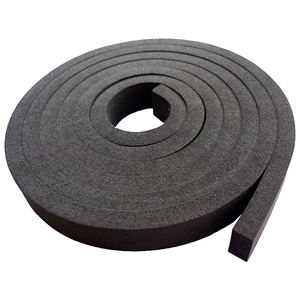 EPDM rubber seal strip with adhesive back in OEM design